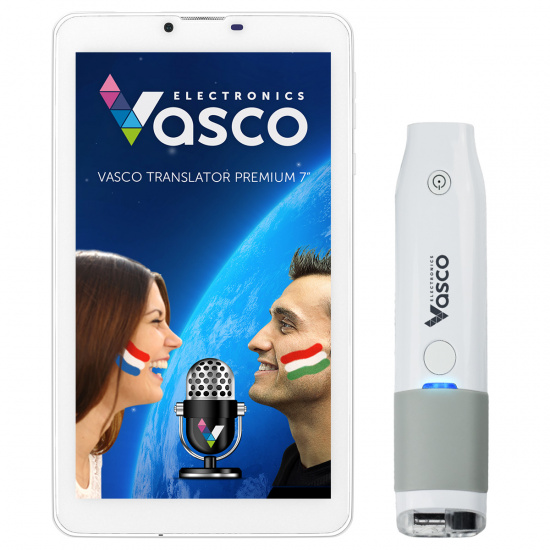 """Vasco Translator Premium 7"""" med skanner"""